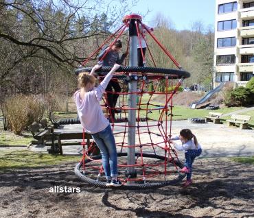 Hally-Gally Kleine Sanduhr Kreisel Seilklettergerüst