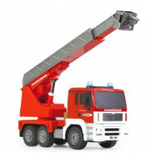 Jamara RC Auto Feuerwehr Drehleiter MAN 1:20 rot 2, 4GHz Feuerwehrauto Funk