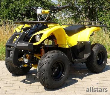 Allstars Kinderquad Elektro-Quad S-8 Farmer E-Quad Elektroquad 1000W gelb-schwarz