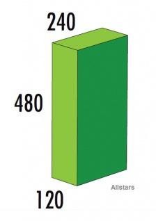 Bänfer Softbaustein Quader 480x240x120mm Medi Schaumstoff-Bausteine Großbaustein