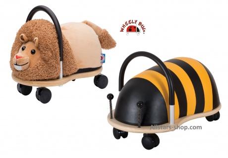 Wheely Bug Rutscher Biene Maja und Löwe Simba Kleinkindrutscher klein mit 360 Grad Wendekreis allstars