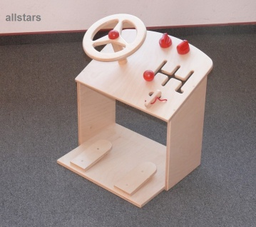 Auto Lernauto Lenkrad Pedal Gas Bremse Schaltung Spielauto