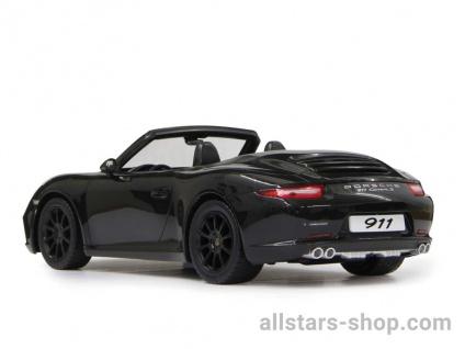 Porsche 911 Carrera S 1:12 schwarz mit 27MHz Fernbedienung von Jamara - Vorschau 2