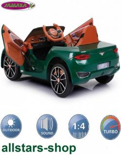 Jamara Kinderauto Elektroauto Ride On Car Bentley EXP12 dunkelgrün Cabriolet Kids - Vorschau 2