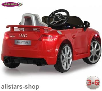 Jamara Kinder-Auto Elektroauto Audi TT RS Roadster Ride On Car mit E-Motor
