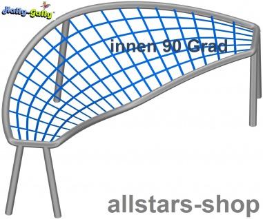 Hally-Gally Element für Achterbahn schräg 90° Bogen nach innen für Klettergestell mit 1 Netzteil