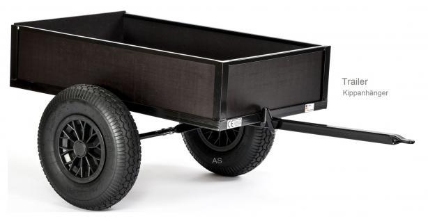 DinoCars Kippanhänger Dino Cars Anhänger Flachtenkipper