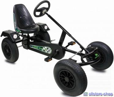 DinoCars Classic Sport AF schwarz Kinderauto GoCart Tretauto