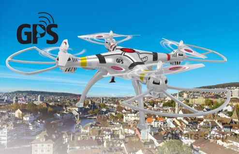 Jamara Payload GPS Drohne Altitude Coming Home