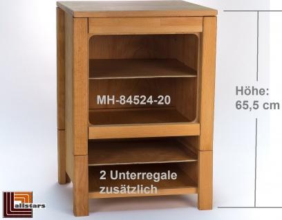 Allstars Kinderspielküche Küchenregal Regal Regalschrank H = 65, 5 cm aus Buchenholz