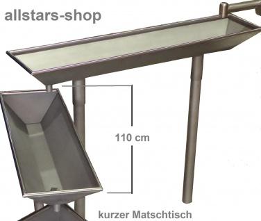 Wasserrinne 1 Stück für Wasserspielanlage Matschanlage Wasserspiele Länge 110 cm mit Füßen
