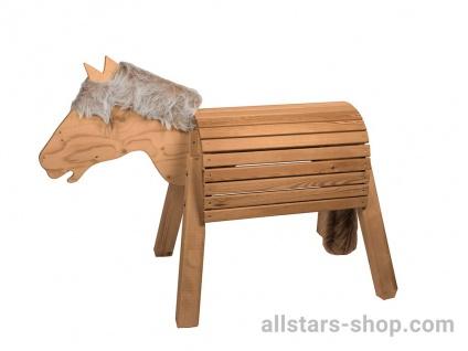 Allstars Holzpferd Mini