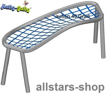 Hally-Gally Element für Achterbahn schräg 45° Bogen nach außen für Klettergestell mit 1 Netzteil