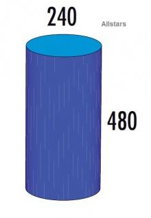 Bänfer Softbaustein Zylinder 480 x 240 mm Medi Schaumstoff-Bausteine Großbaustein