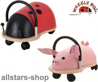 Wheely Bug Rutscher Ferkel Piggi und Marienkäfer Skip Kleinkindrutscher klein 360 Grad rundum allstars