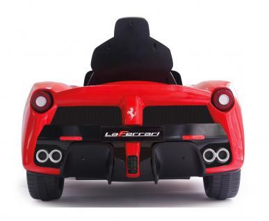 Jamara Ride On Ferrari LaFerrari Kinderauto Elektroauto rot 2, 4G 6V - Vorschau 3