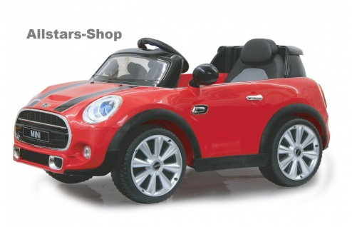 Jamara Kinder-Auto Elektroauto Mini Cooper Ride On Car mit E-Motor