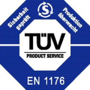 Huck Gurt-Hängematte + 2 Pfosten Stahlpfosten Matte PVC-Beschichtung verstellbar - Vorschau 4