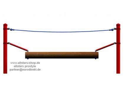 Huck Seil Parcours Seilparcours Modul Wackelbalken Balancierbalken Balance