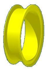 Beckmann Rutsche Röhrenrutsche Modul Element gerade 25 cm