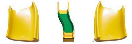 Beckmann Rutsche Modulrutsche PE Anbaurutsche L = 4, 80 m PH = 2, 40m - Vorschau 2