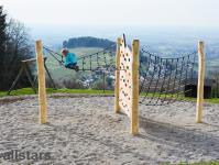 Huck Adlerhorst Bühl Kletteranlage mit Kletterwand