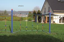 Huck Fun-Parcours Kletterspiel Kleine Teller Seil-Parcours Spielplatzanlage