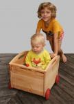 Schöllner Spielzeugwagen Lore Spielzeugkiste auf Räder Spielzeugbox für Kindergarten