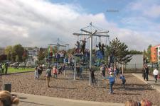 Huck Vogelnestbaum-Kombination spielplatzanlage Kletternetz Vogelnest Kletterseil