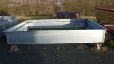 Hally-Gally Sondereingrabrahmen f. Rollstuhltrampolin Trampolin Einbautrampolin