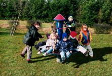 Hally-Gally Mini-Kreisel Karussell Kreisel Kinderkarussell