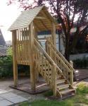 Allstars Spielhaus Stelzenhaus Kinderspielhaus Jona XL Maxi