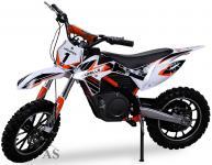 Allstars Dirtbike 500 Watt Gazelle Elektro CrossBike orange