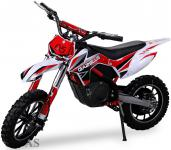 Allstars Dirtbike 500 Watt Gazelle Elektro CrossBike rot