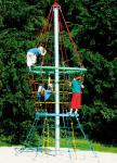 Huck-Sanduhr Attighof Maxi Kletterpyramide Karussell drehbar