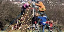 Huck Super-Climb Mini Kletterpyramide