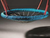 Huck Vogelnestschaukel Vogelnest Reiherhorst Ø 120 cm blau