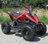 Allstars E-Quad Elektroquad Racer 800W rot-schwarz Kinderquad