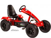 Allstars Dino Cars Kettcar GoKart Stylez S121 Breitreifen rot