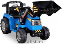 Allstars ElektroBagger blau Elektro Bagger Kinderbagger Lion Schaufelbagger Mammut