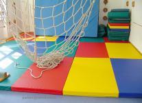 Bänfer Fallschutzmatten SKANDIA Matte 1 x 1 m Kinderspielmatte Schaumstoffmatte