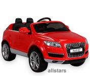 Kinderauto Elektro Audi Q7 E-Auto lizensiert 2x 45W-E-Motor rot