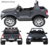 Actionbikes Kinderauto Ford Ranger Kinder-E-Auto 2-Sitzer 2 Kinder anthrazit