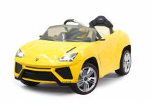 Jamara Ride On Lamborghini Urus Kinderauto Elektroauto gelb 2, 4G 6V