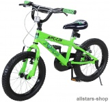 Actionbikes Kinderfahrrad Kinder-Fahrrad - Zombie - 20 Zoll BMX grün-schwarz Bike Jungen Mädchen für Kindergarten