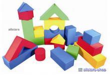 Softbausteine Bausteine Großbausteine 21 tlg. ProStyle für Therapie Kindergarten