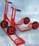 Roller Rollerständer stabil für 3 Cityroller Scooter mit Breitreifen Tretroller