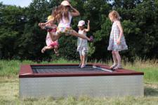 Hally-Gally Spogg Original 2000 Trampolin Sprungmatte Aufstelltrampolin Huck