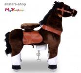 """Actionbikes Ponycycle """"Mister Ed"""" Pony Mini Schaukelpferd auf Rollen Dreirad"""