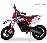 Actionbikes Kindermotorrad Kinder-Crossbike Poketbike Gazelle E-Motorrad rot